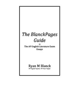BlanckPages Guide to the AP English Literature Exam Essays