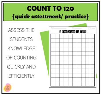 Number Worksheet -- Blank 120 Chart (C) | Matemática ...