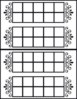 Blank 10 Frame