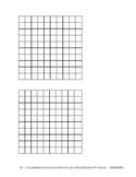 Blank 10x10 square - 2 per page (.doc) (CSDAX001)