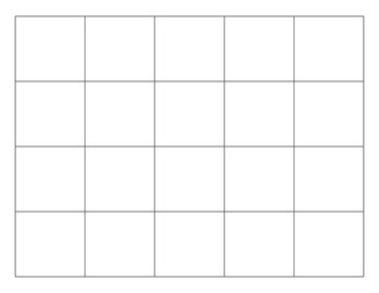 Blank 100 Grid