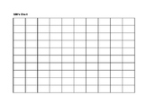 Blank 100 Number Chart