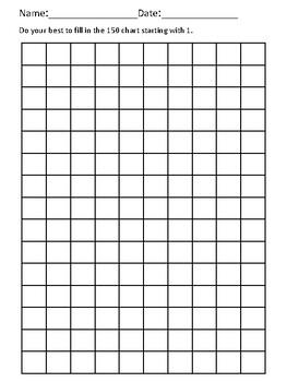 Blank 150 Chart