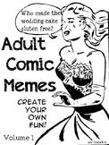 Blank 1950s Comic Memes - Create your own fun!