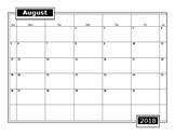 Blank 2018-2019 School Calendar