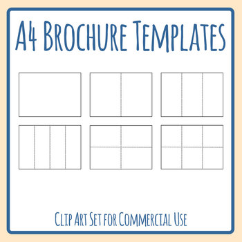 Blank Brochure Template Teaching Resources Teachers Pay Teachers - Blank brochure templates