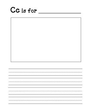 Blank ABC Book Template