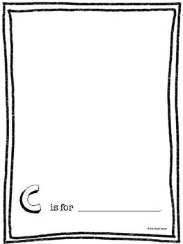 Blank ABC Book