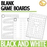 {FREEBIE} Blank B&W Game Boards