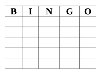 It's just a graphic of Versatile Bingo Boards Printable