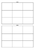 Blank Bingo Worksheets & Teaching Resources | Teachers Pay ...