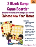 Blank BUMP Game, Spin and Cover, Roll and Cover Template -