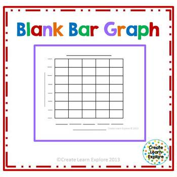 Blank bar graph by create learn explore teachers pay for Block graph template