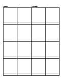Blank Beat Board