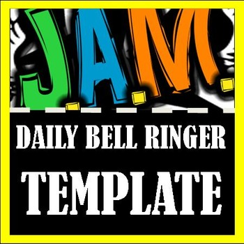Daily Bell Ringer Template Teaching Resources | Teachers Pay Teachers