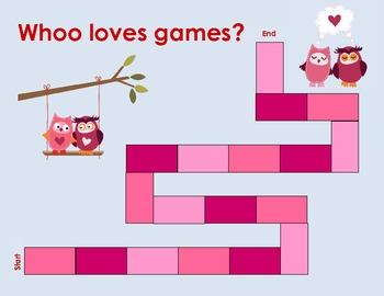 Blank Board Game - Owls