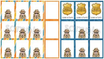 Blank Board Games - Detectives (File Folder Games)