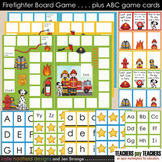 Blank Board Games - Firefighter (File Folder Games) plus A