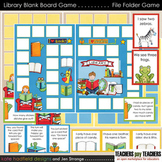 Blank Board Games - Library (File Folder Games)
