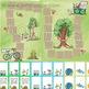 Blank Board Games - Recycling / Garden Gnomes (File Folder Games)