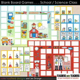 Blank Board Games - School / Science Class (File Folder Games)