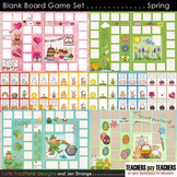 Blank Board Games - Spring Holiday Pack (File Folder Games)