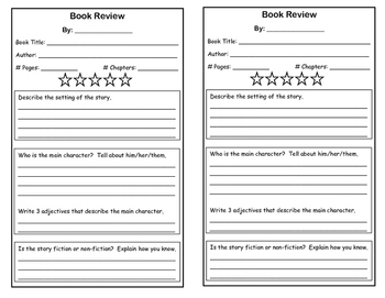 Blank Book Reviews