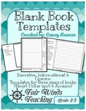 #Tistheseason20offday Blank Book Templates (Amazon and Target Dollar Spot Books)