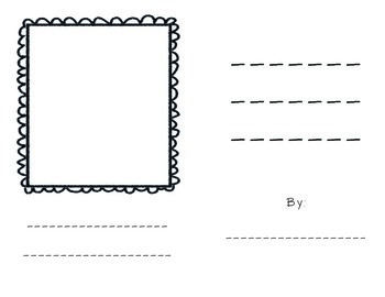 Blank Booklet - Sequence of Events