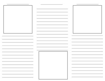 blank tri fold brochure template - brochure template by the techie teacher teachers pay