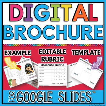 Digital Brochure in Google Slides™