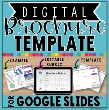 Digital Brochure in Google Slides™