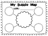 Blank Bubble Map Template