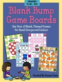 49 Bump Games – One Year of Blank, Themed Games For Small Groups/Centers
