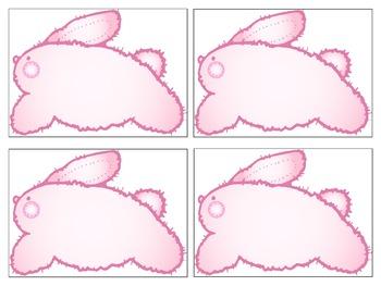 Blank Bunny Cards