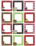 Blank Calendar Squares - Pirate Theme