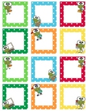 Blank Calendar Squares - Smarty Frog Theme