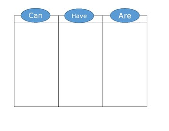 Blank Can Have Are Chart