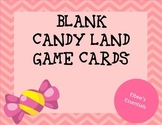 Blank Candy Land Cards