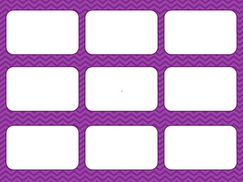 Blank Card Game - Purple