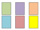 Blank Cards Template for Making Games