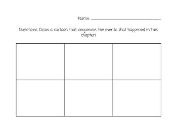 Blank Cartoon Sheet