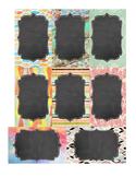 Blank Chalkboard Labels