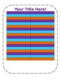 Blank Chart Template in fun colors (2)