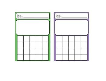 Blank Charts