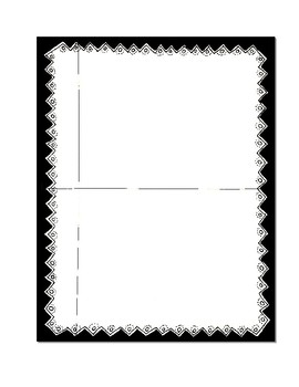 Blank Charts with Borders