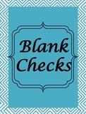 Blank Checks