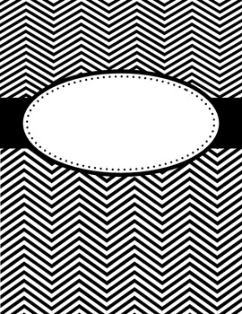 Blank Chevron Covers / Posters