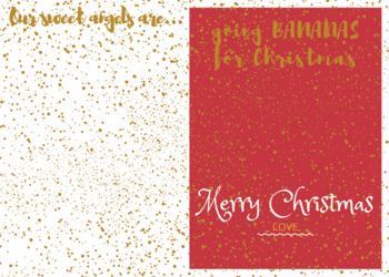 Blank Christmas Card