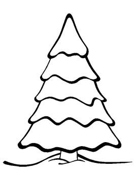 blank christmas tree - Blank Christmas Tree